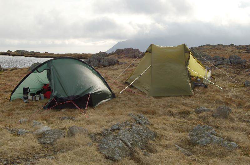 3 Tarns Wild Camp Akto