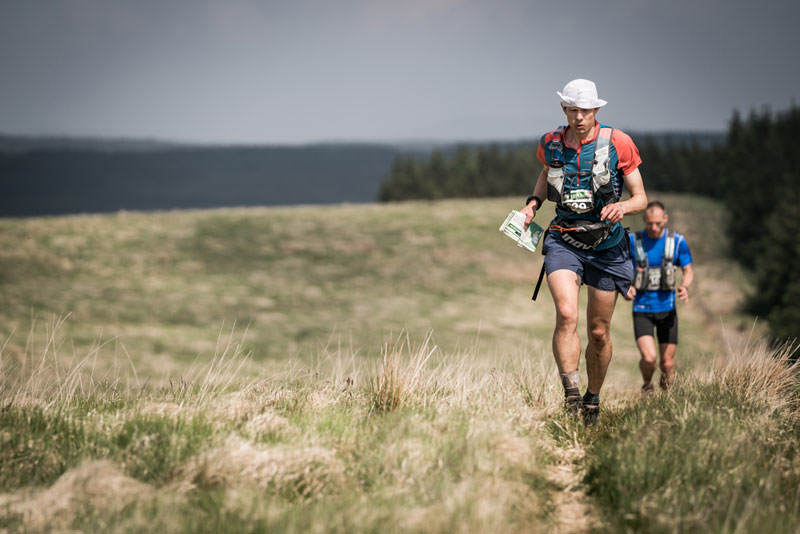 6 Neil Talbott ran strongly on day four of the Berghaus Dragons Back Race photo Ciancorless