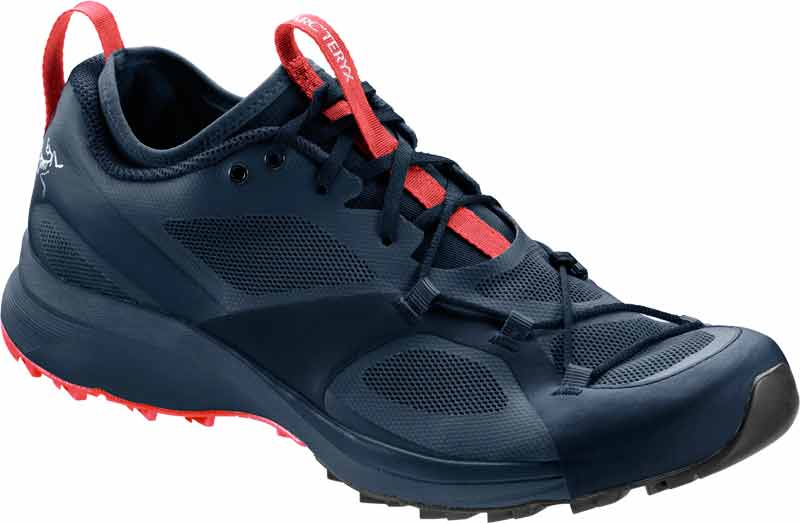 Arcteryx S17 Norvan VT Trail Running Shoe W Blue Nights Coral