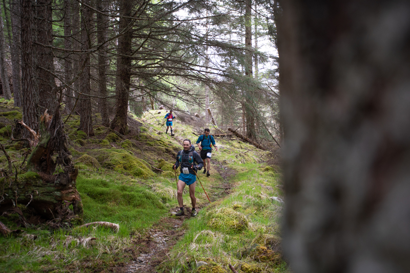 Cape Wrath Ultra 2018 DAY 3 Jim Mann leads the field through Kintail Jimmy Hyland JHPVisuals