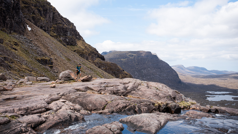 Cape Wrath Ultra 2018 DAY 4 Jamie Ramsay GORE ambassador travels through the grand mountains of Torridon Jimmy Hyland JHPVisuals
