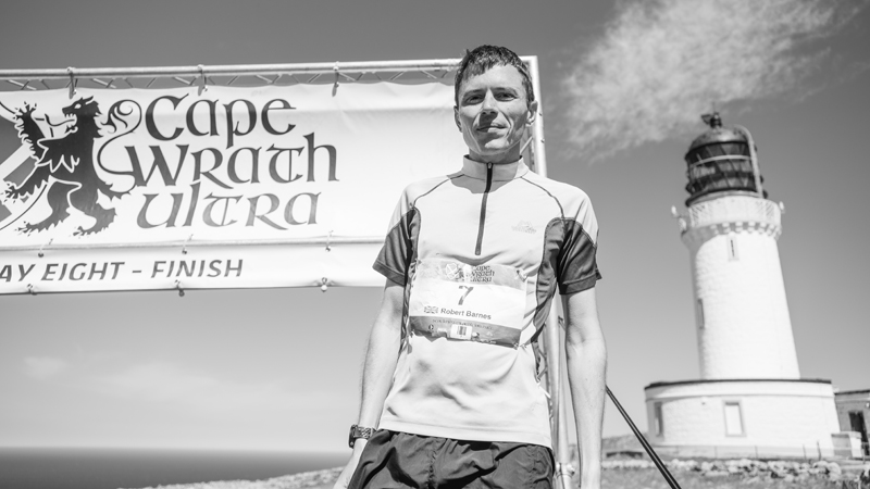 Cape Wrath Ultra 2018 DAY 8 2018 WINNER Rob Barnes of England Jimmy Hyland JHPVisuals