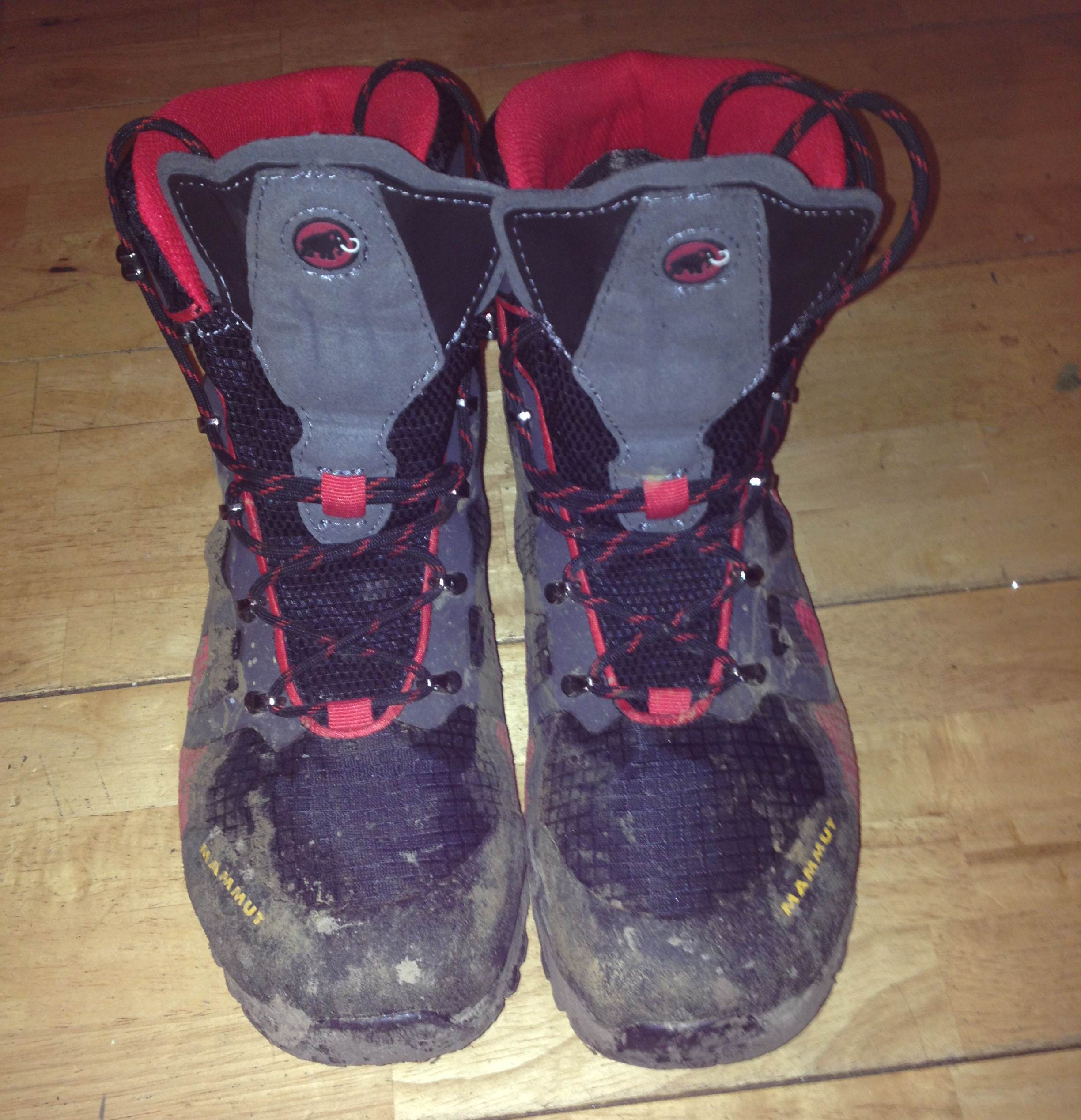 Having worn these for a few weeks of activities the Mammut Comfort High GTX Surround boots have proved themselves to be a tough, very waterproof and