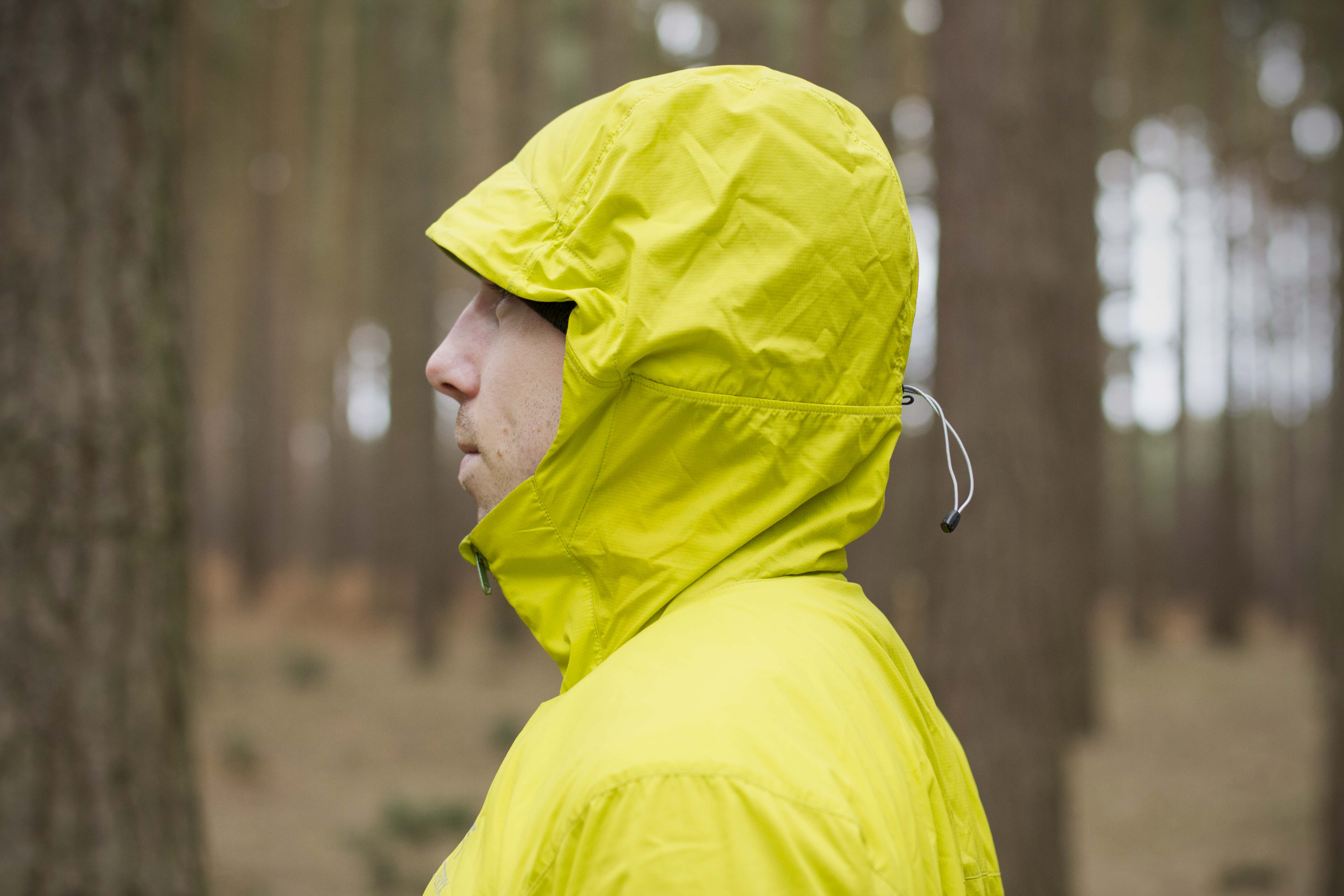 Arcteryx Atom SL Hood up Side