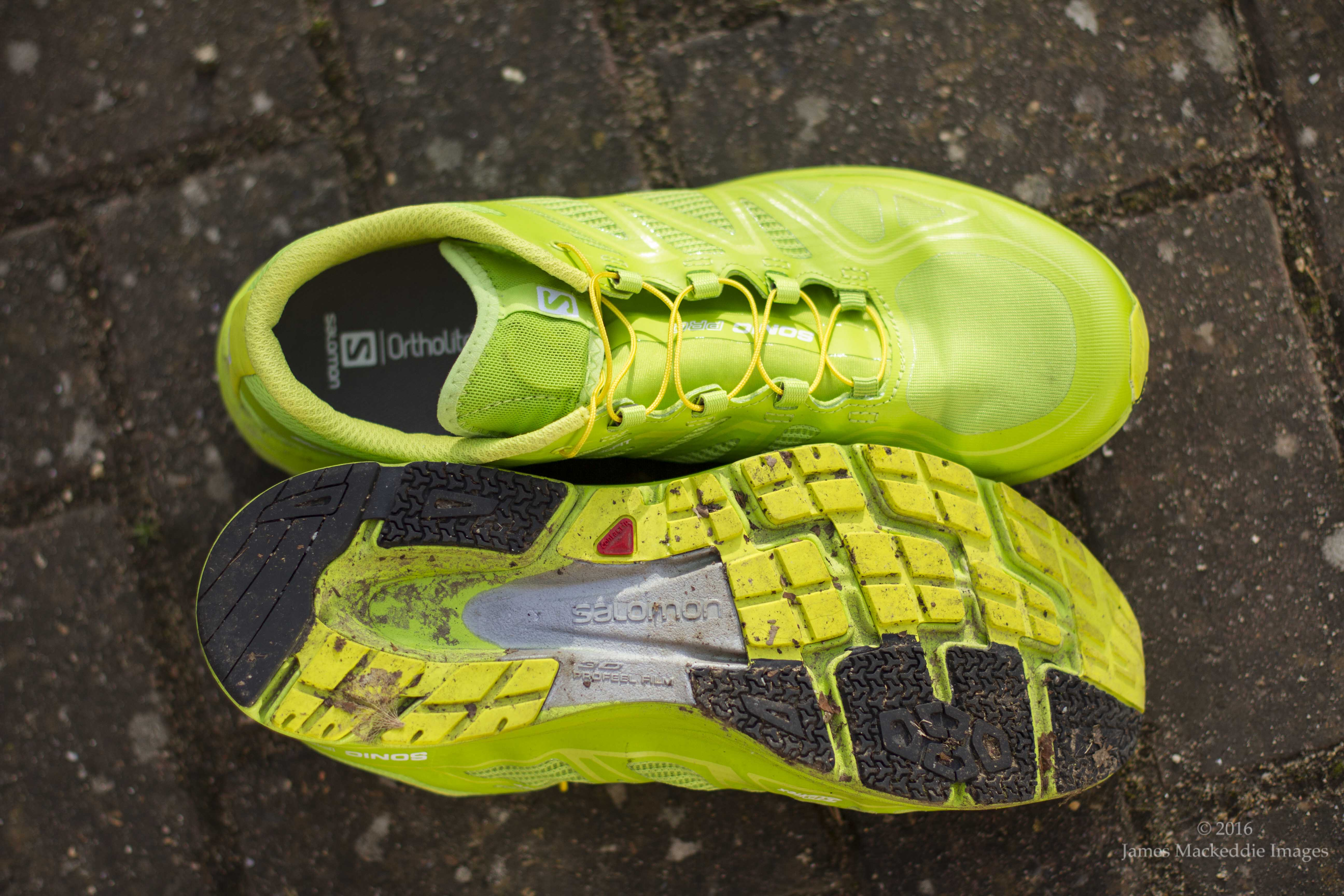 Salomon Sonic Pro sole top