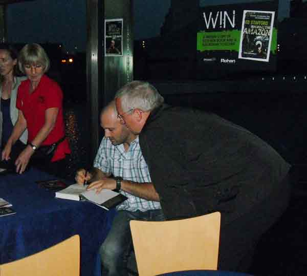 Ed Stafford Book Signing