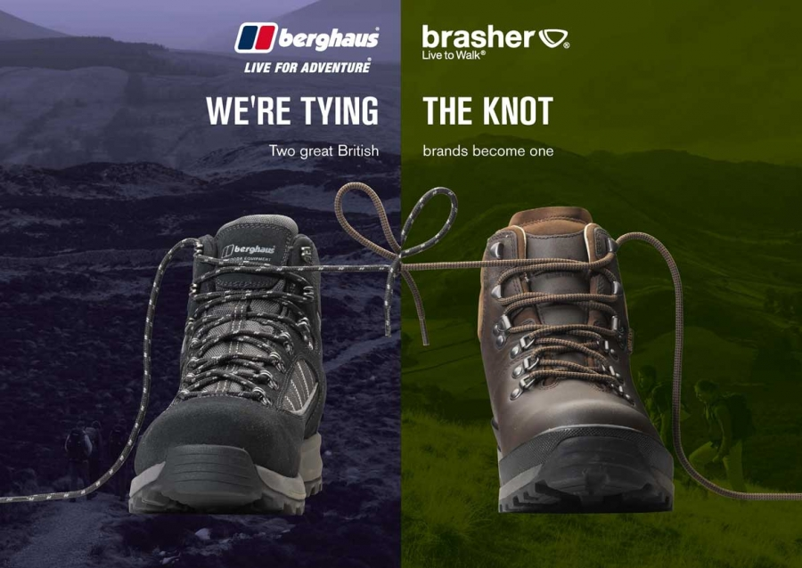 "A ""range of options for the future of Brasher"" says Pentland on integration into the Berghaus brand"