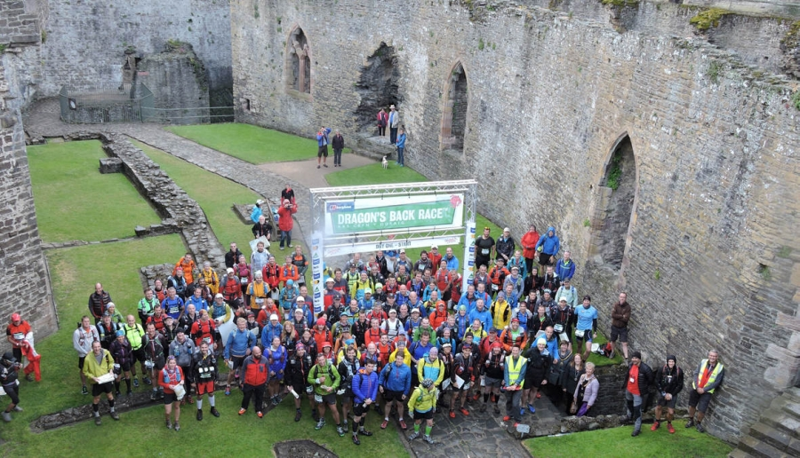 The 2015 Berghaus Dragon's Back Race gets underway