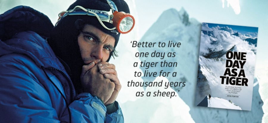 One Day as A Tiger: Alex Macintyre and the Birth of Light and Fast Alpinism - reviewed