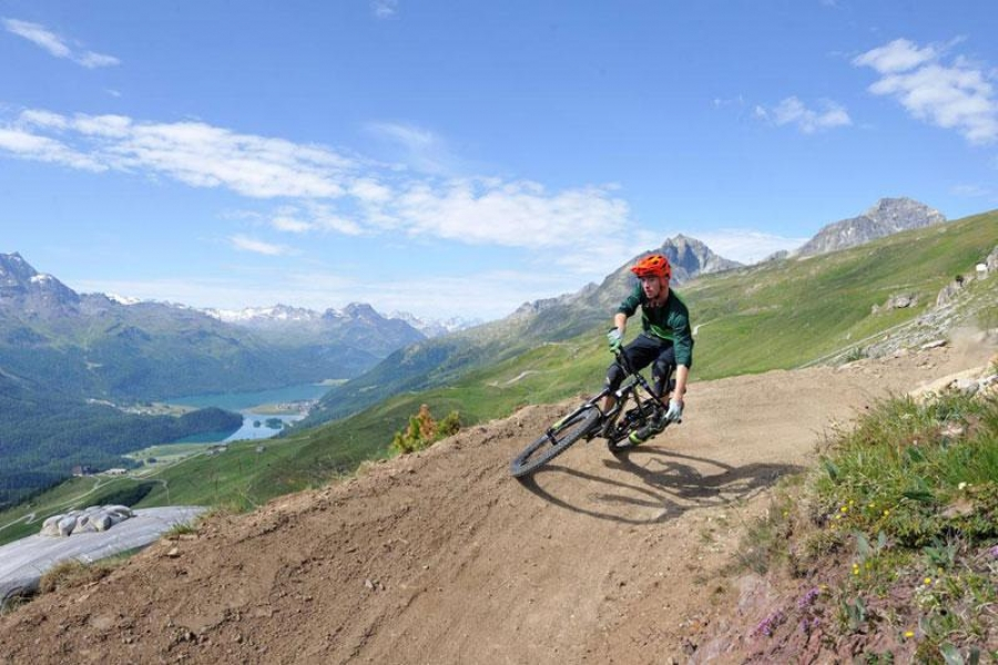 Mountains ready, bikes ready. Henry Iddon finds out what makes the Swiss Roll