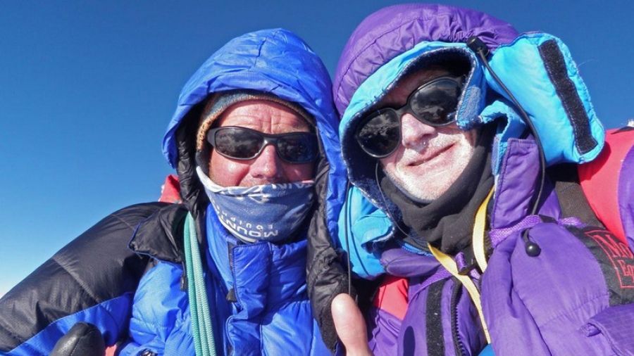 Mountaineer Rick Allen found by drone after being suspected dead on Broad Peak