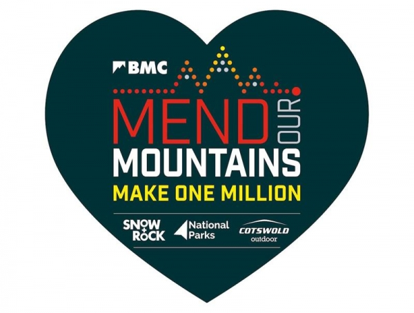 Mend Our Mountains: Make One Million appeal has passed the one third mark, having raised over £330,000 so far
