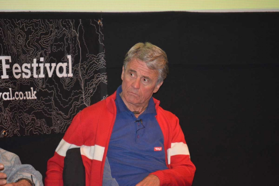 Peter Habeler at Keswick
