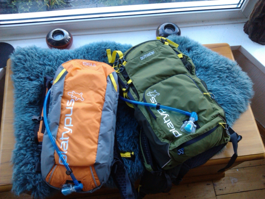 Platypus Mountain Bike hydration packs tested and reviewed