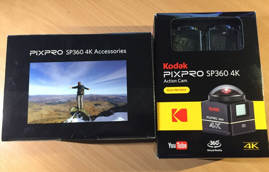 Henry Iddon puts the Kodak PixPro SP360 4K to the test