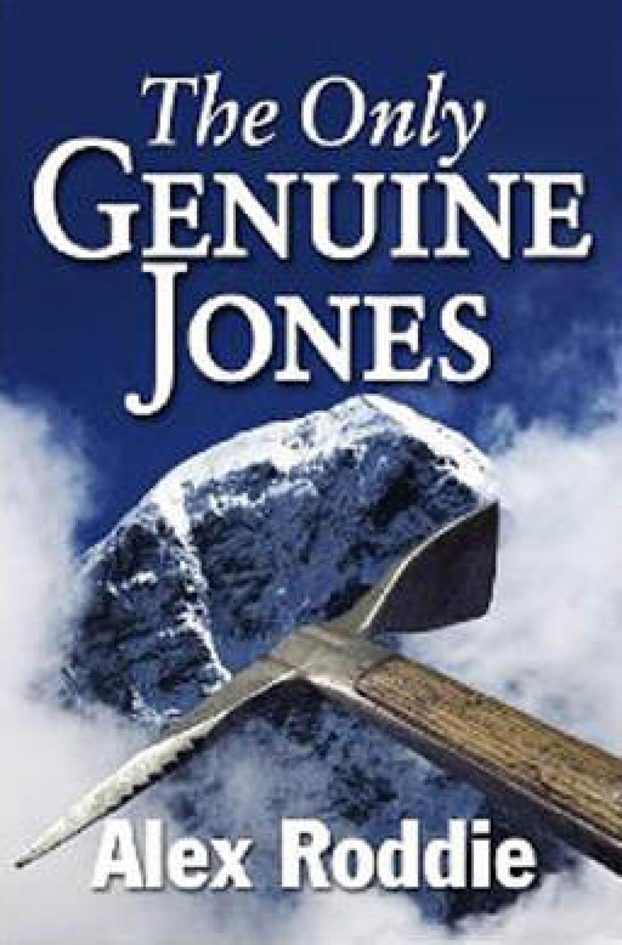 Alex Roddie -The Only Genuine Jones: Reviewed
