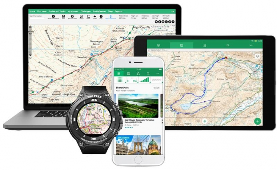 Explore Great Britain with ViewRanger's new OS maps subscription