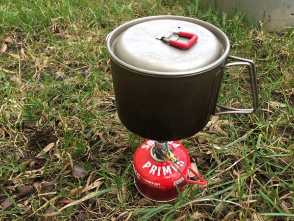 Primus Micron Trail Stove: Early production sample tested