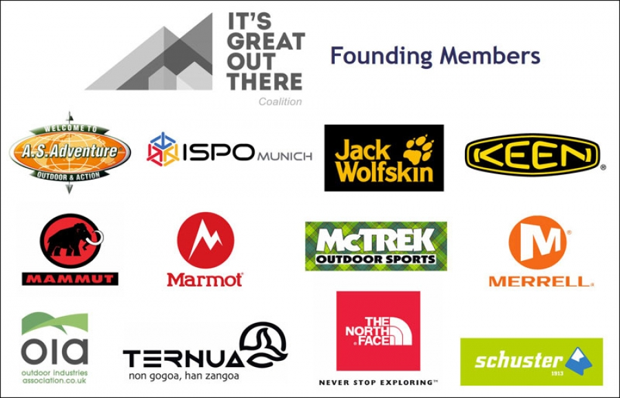 Outdoor industry giants join forces to launch the It's Great Out There Coalition