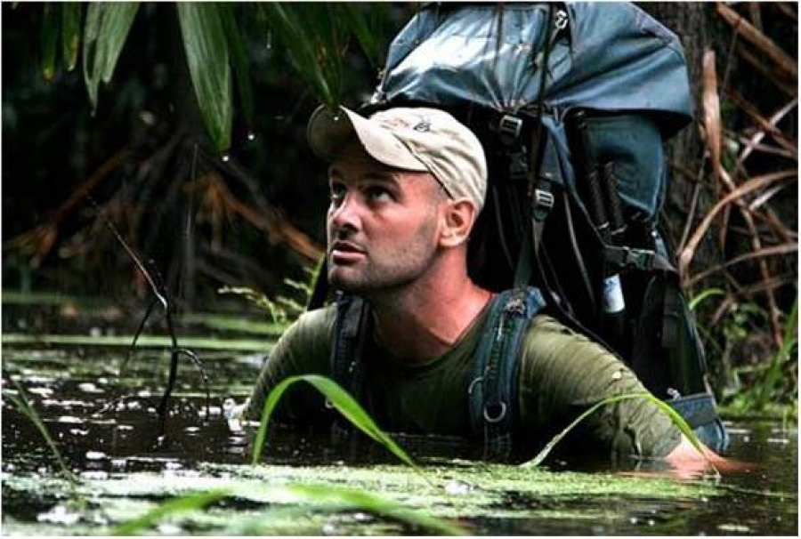 Ed Stafford's Walking the Amazon Tour ...Live at the Lowry