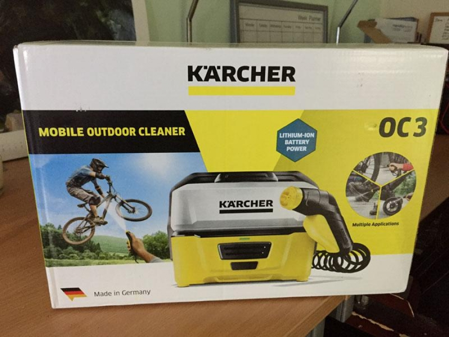 Karcher OC3 Portable Cleaner tested and reviewed