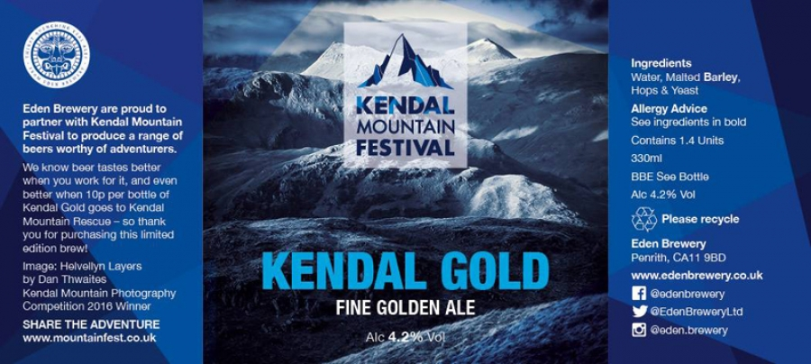Kendal Festival Beer to benefit Mountain Rescue