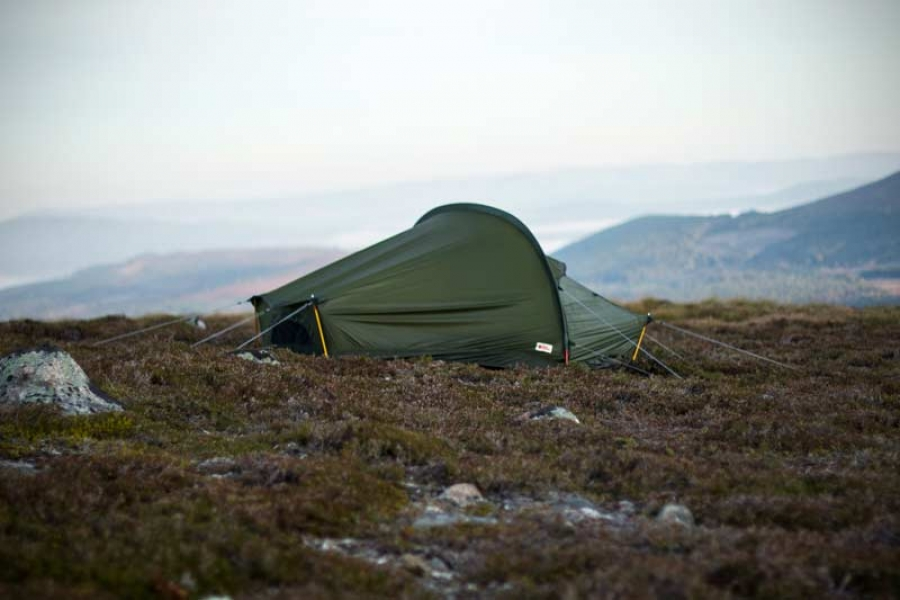 Hands on with Fjallraven's 2016 tent range in the Cairngorms
