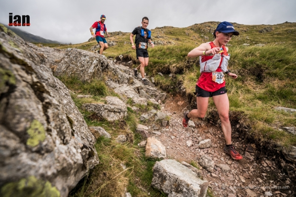 Married couple Henriette and Jonathan Albon win the Scafell Sky Race