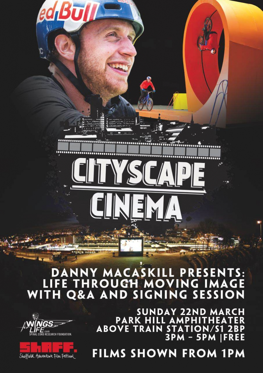 Bike Stunt Legend Danny MacAskill Comes to Sheffield Adventure Film Festival