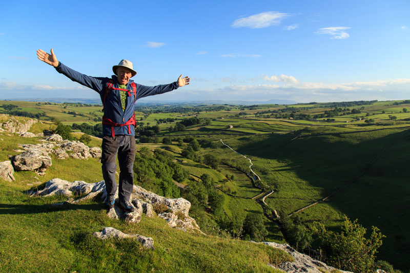 Alan at Malham Cove Terry Abraham