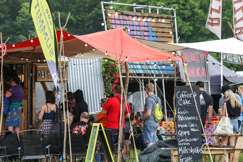 Food and drink in the Keswick Mountain Festival Village on Crow Park 002