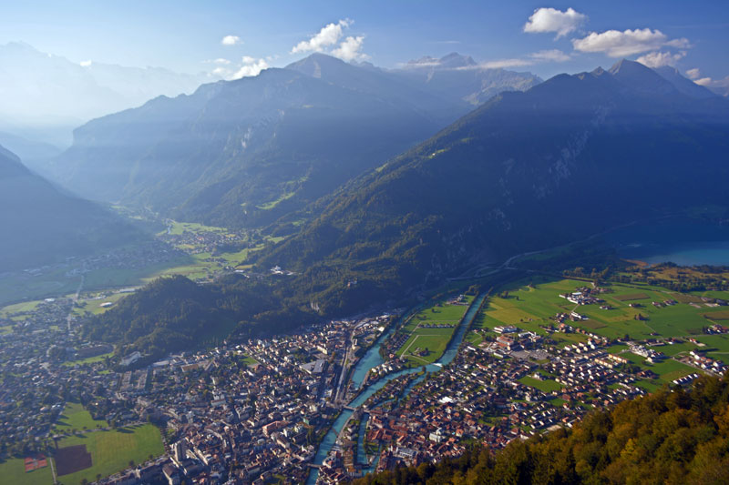 Interlaken from Harder Kolm