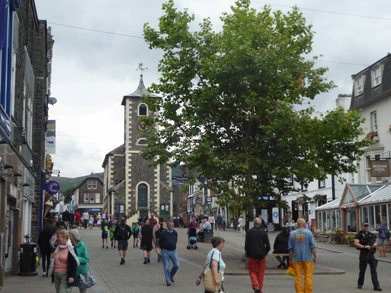 Keswick Market Square and the Moot Hall site for the Town Trials photo credit Keswick Tourism Association 002