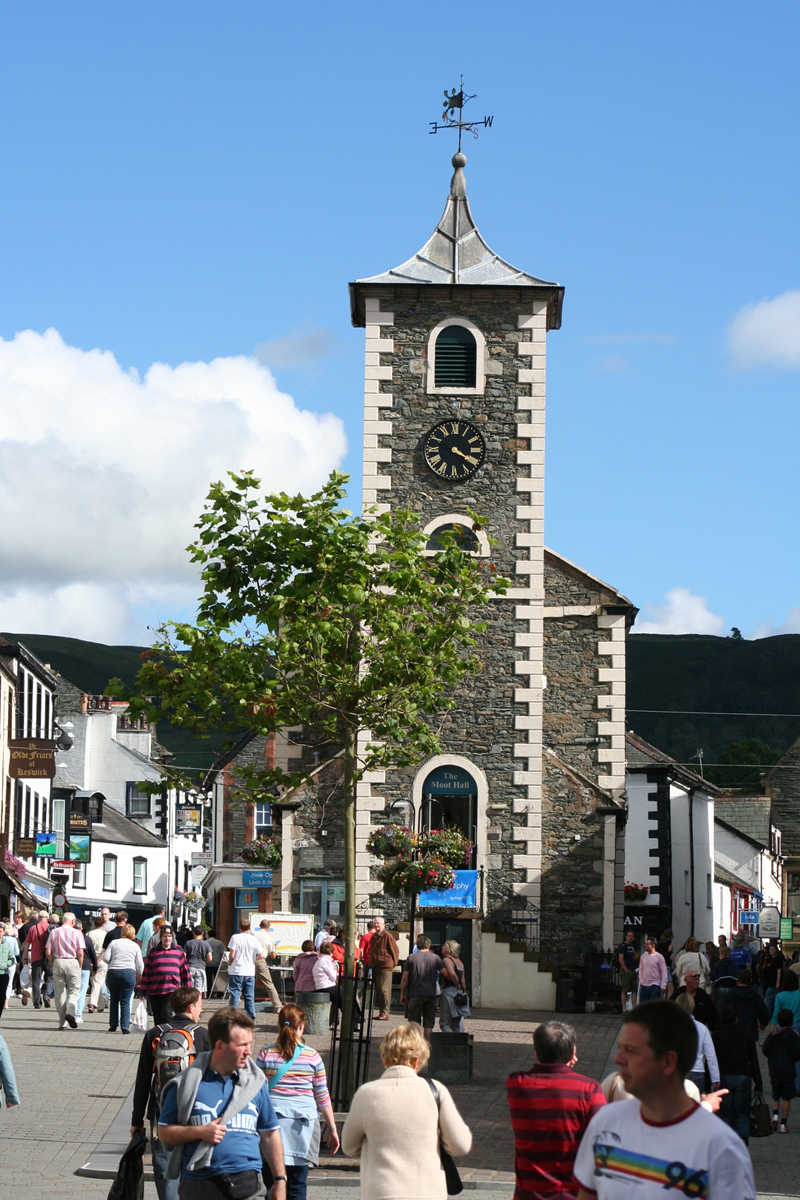 Keswick Market Square and the Moot Hall site for the Town Trials b photo credit Keswick Tourism Association 002
