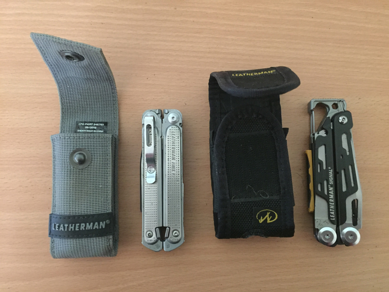 Leatherman Signal and Free 1