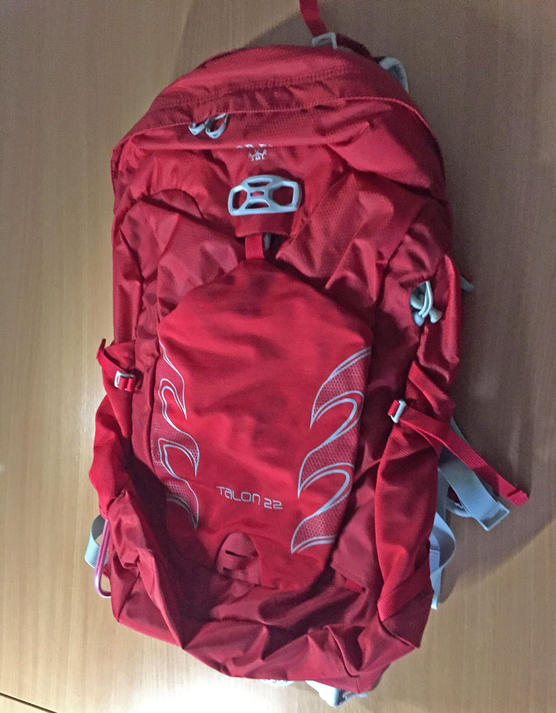 26de9223703a New 2017 Osprey Talon 22 tested and reviewed