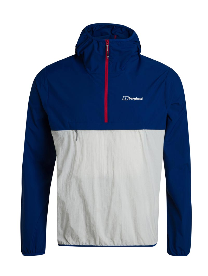 Corbeck Wind Smock blue and grey 002