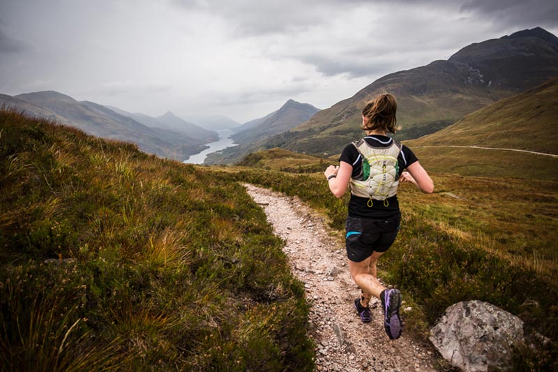 Exploring Lochaber via a Salomon Skyline Scotland Trail Race copyright No Limits Photography 002