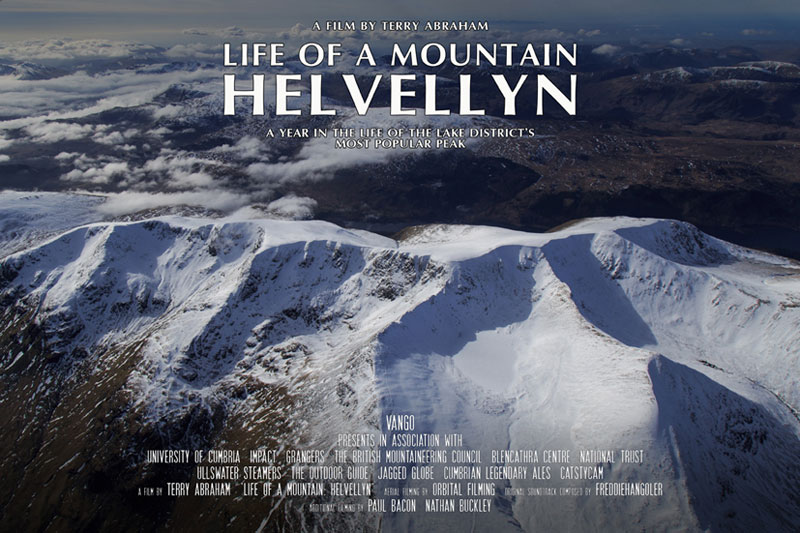 Life of a Mountain Helvellyn will be shown on the main stage at Keswick Mountain Festival 002