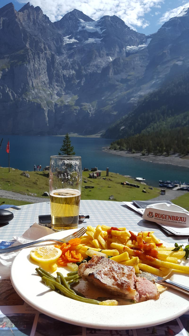Via Alpina 2019 food