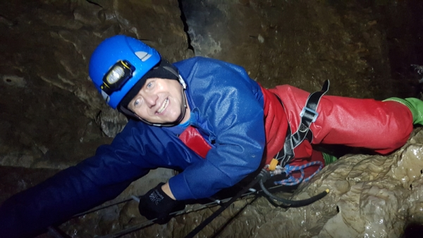 BBC Breakfast go caving ahead of Kendal Mountain Festival 2018