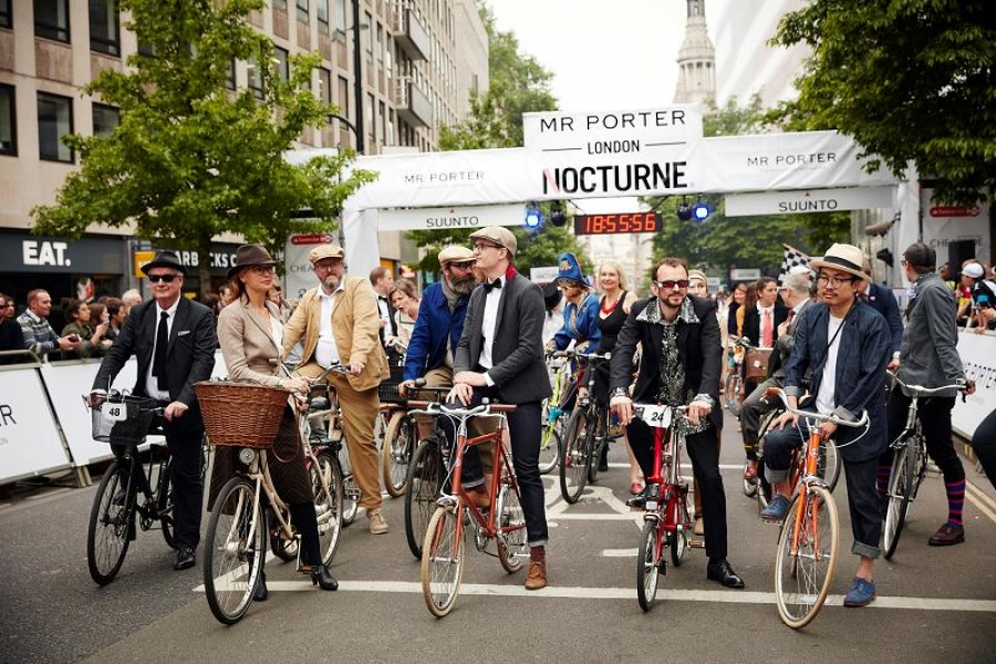 London's Coolest Cycling Event - Mr Porter Nocturne