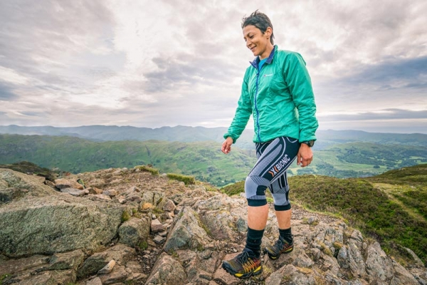 Sabrina Verjee sets new fastest known time of under six days for a Wainwrights round
