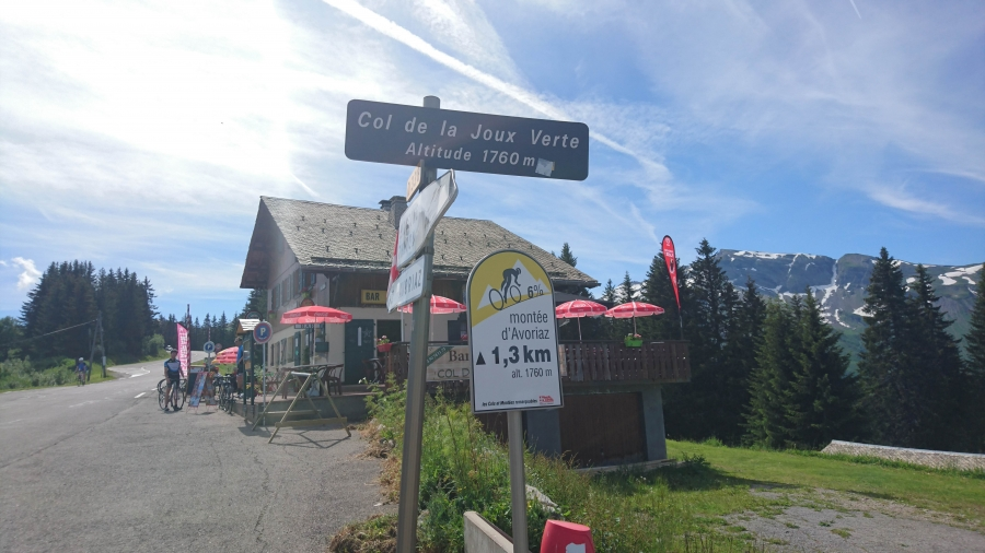 Ahead of Le Tour  - A Morzine Road Ride