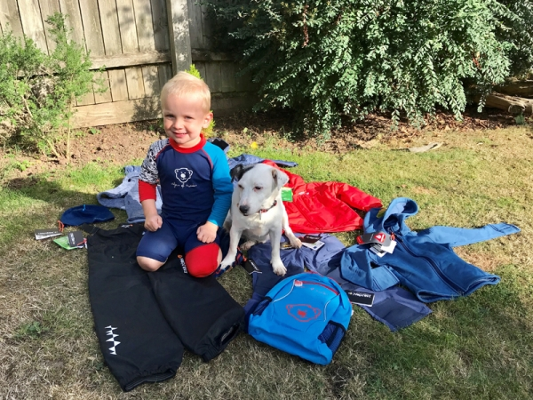ISBJÖRN of Sweden appoints 2 year old as youngest outdoor brand ambassador