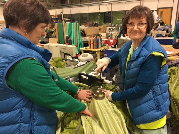 Vango's Camping Recycled pledges support to Scottish Mountain Rescue