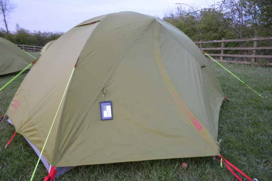 Jack Wolfskin Skyrocket II tent tested and reviewed