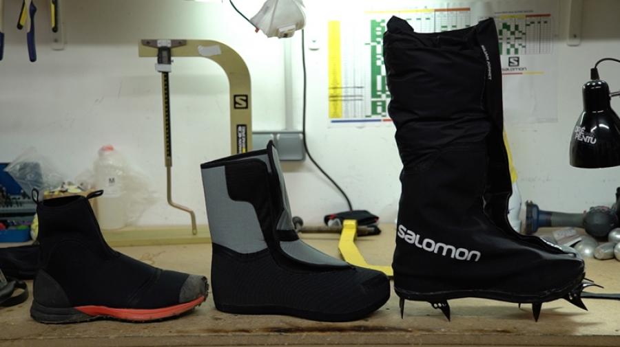 Salomon Creates Prototype Footwear System for Kilian Jornet's Everest Expedition