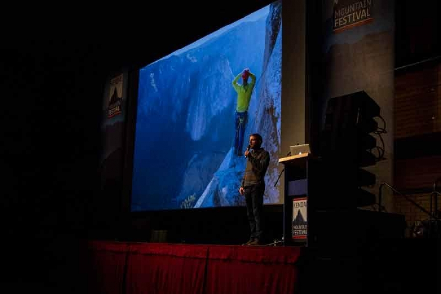 Tommy Caldwell returns to Kendal to talk about his dramatic, inspiring memoir