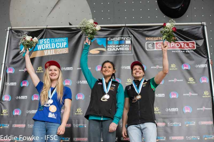 Shauna Coxsey clinches Britain's first ever IFSC World Cup Series title to go with her MBE